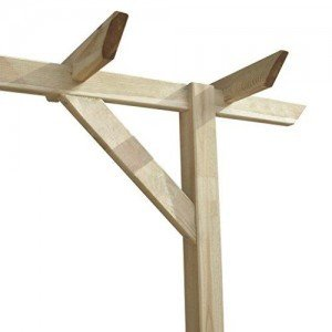 Anself-Gartenpergola-Anlehn-Pergola-aus-Holz-mit-drei-Pfhlen-400-x-40-x-205-cm-0-1
