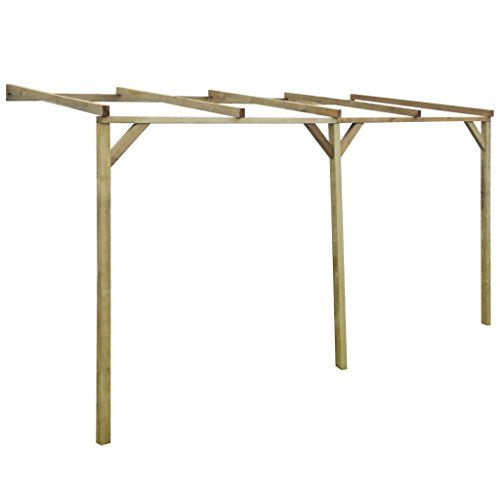Anself-Terrassendach-Terrassenberdachung-Pergola-aus-Holz-fr-Wandanbau-2mx4mx22m-0-0