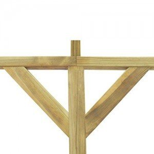 Anself-Terrassendach-Terrassenberdachung-Pergola-aus-Holz-fr-Wandanbau-2mx4mx22m-0-1