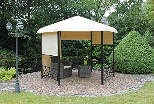 Dreams4Home-Pavillon-Capua-V-Terrassenberdachung-Pergola-Terrassendach-Sonnendach-berdachung-BHT-ca-350-x-260-x-350-cm-Garten-in-natur-0-0
