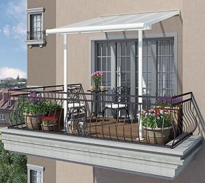 Hochwertige-Aluminium-Terrassenberdachung-Balkondach-Terrassendach-Sierra-230x230-cm-TxB-0