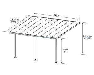 Hochwertige-Aluminium-Terrassenberdachung-Terrassendach-300x546-cm-TxB-wei-inkl-Befestigung-0-1