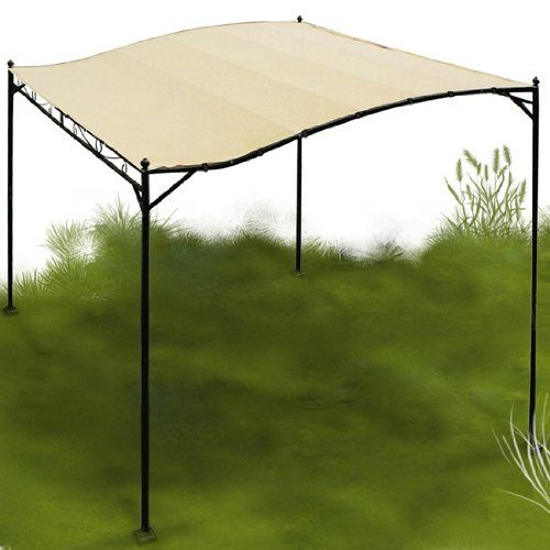 Miadomodo-Garten-Pavillon-in-Beige-Partyzelt-aus-Stahl-in-der-Gre-3-x-25-m-wasserabweisend-mit-Klettbndern-0-0