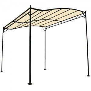 Miadomodo-Garten-Pavillon-in-Beige-Partyzelt-aus-Stahl-in-der-Gre-3-x-25-m-wasserabweisend-mit-Klettbndern-0-1