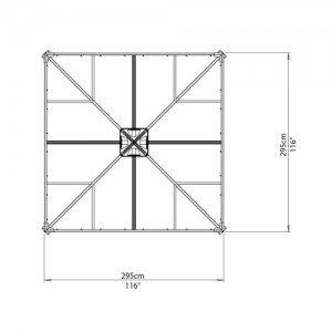 Palram-Pavillons-Palermo-Gazebo-3000-295-x-295-x-276-cm-Aluminium-NEUOVP-0-2