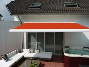 Prime-Tech-Elektrische-Kassettenmarkise-Gelenkarm-Markise-400-x-300-cm-Gehuse-weiss-Tuch-orange-rot-580-0