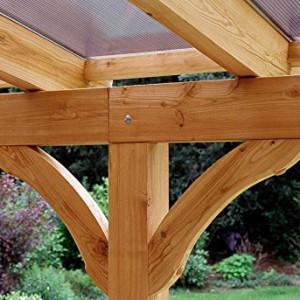 Skan Holz Terrassenüberdachung Ravenna 541 x 350 cm Douglasie | Ihre ...