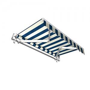 Stabile-Markise-Balkon-Markisen-GelenkarmMarkise-250-x-150-cm-blauweiss-250-x-150-m-0